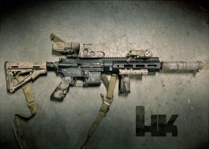 The Gun that Killed Bin Laden, Here's Exactly What it Is