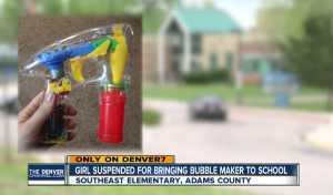 Your 5 Year Old Girl is Suspended for Bringing this Plastic Item to School, How do You React?