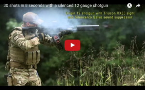 You've Got to See the World's Fastest Shotgun, Shoots 30 Rounds in 8 Seconds