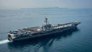 "North Korea Ready to ""Sink a U.S. Nuclear Powered Aircraft Carrier with a Single Strike"""